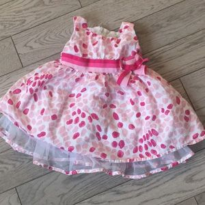 Children's Place Pink Party Dress 6-9